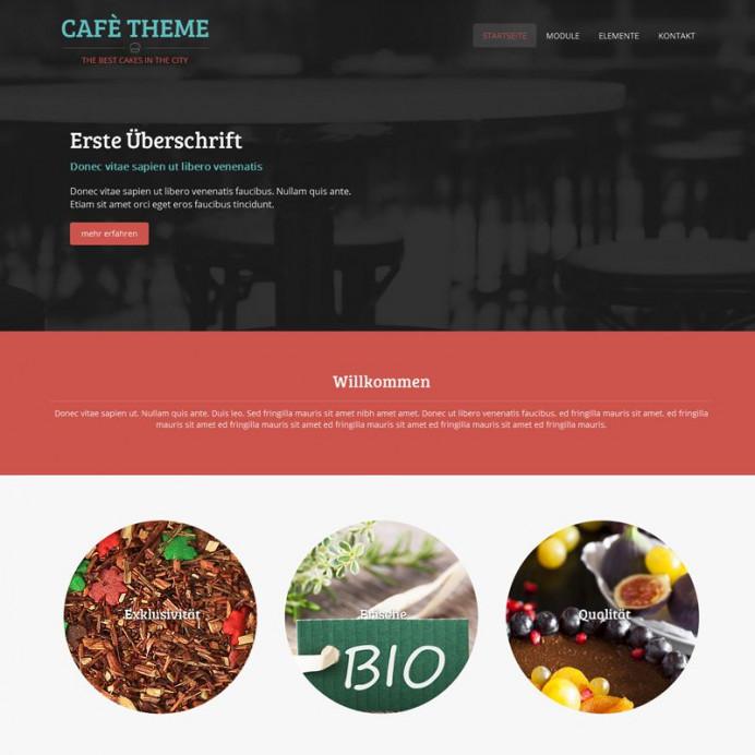 Bootstrap Café