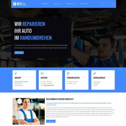 Bootstrap KFZplus