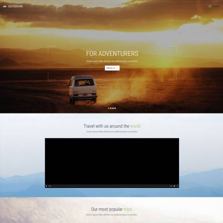 Bootstrap Outdoor