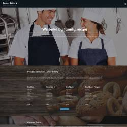 Bootstrap Bakery