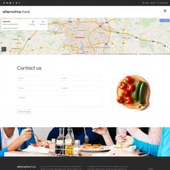 Bootstrap Alternative Food
