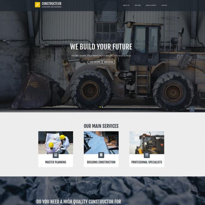 Bootstrap Constructeur